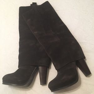 Ash  Chocolate Brown Suede Boots